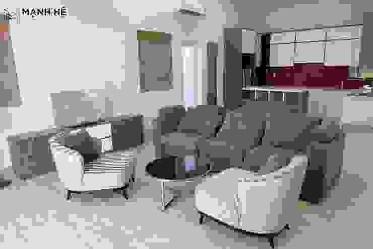 Đồ nội thất được sắp xếp và bố trí phù hợp bởi Công ty TNHH Nội Thất Mạnh Hệ Hiện đại Đá hoa