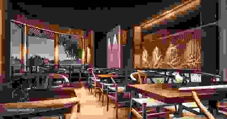 Dining Area by Gadi III + Architects Mediterranean
