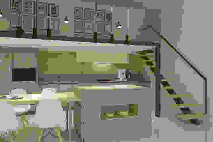 Mutfak - Balkon Modern Mutfak Kalya İç Mimarlık \ Kalya Interıor Desıgn Modern Ahşap Ahşap rengi