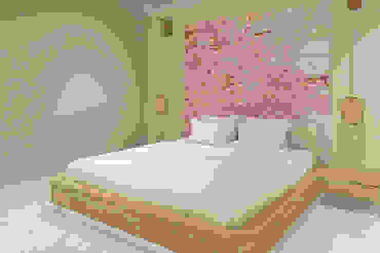 Yatak Odası - Yatak Başı Modern Yatak Odası Kalya İç Mimarlık \ Kalya Interıor Desıgn Modern Ahşap Ahşap rengi