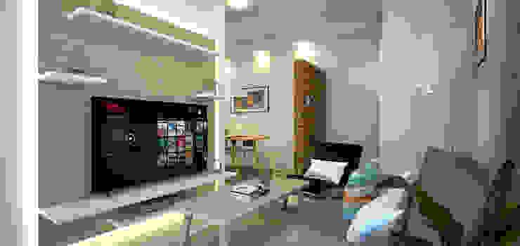 FH Residence MZH Design Living room