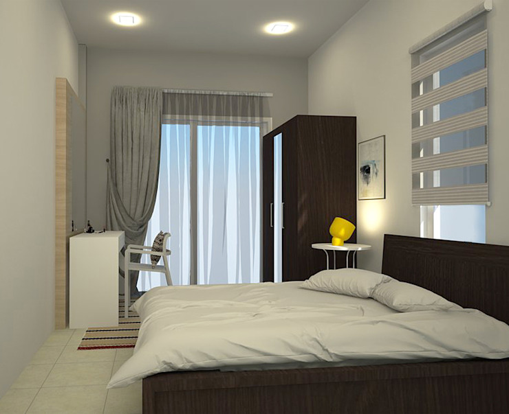 FH Residence MZH Design Scandinavian style bedroom