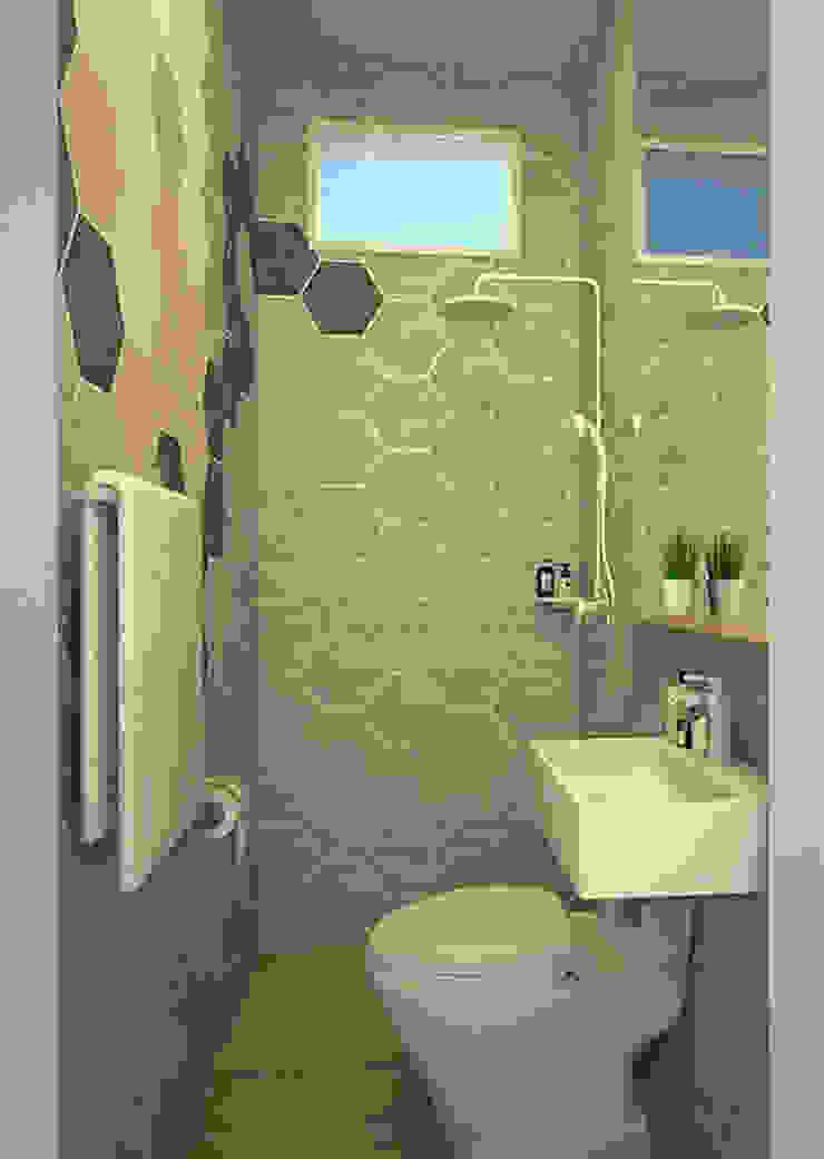 FH Residence MZH Design Scandinavian style bathrooms