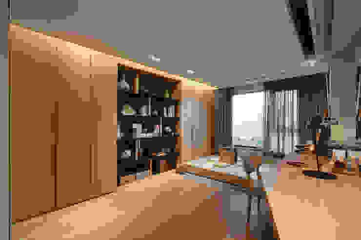 書房/客房 Study & Guest room 根據 隱上設計 現代風
