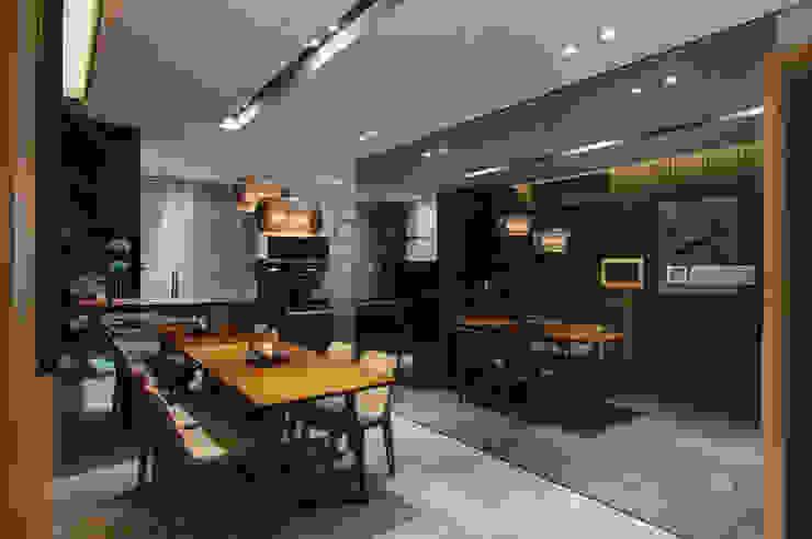 餐廳 Dinning room 根據 隱上設計 現代風
