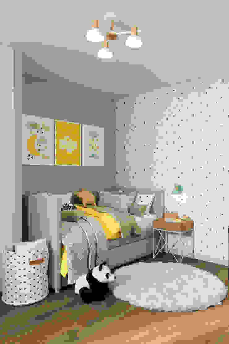 Студия архитектуры и дизайна Дарьи Ельниковой Nursery/kid's room