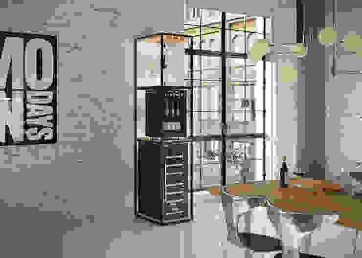 Scaffale Personalizzato per Cantinette Vino Datron Cantina moderna di Datron   Cantinette vino Moderno