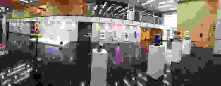 Salón de Exposición para evento de 3M de Artvice Moderno Fibra natural Beige