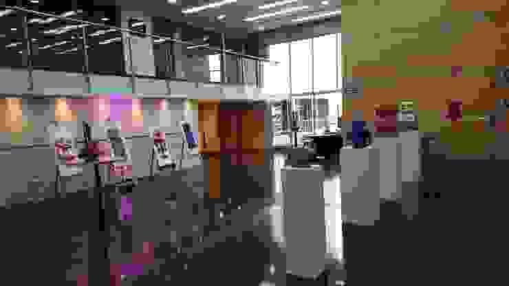 Exposición de Arte para 3M de Artvice Moderno Fibra natural Beige