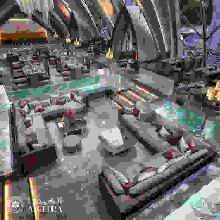 تصميم داخلي لمطعم من Algedra Interior Design حداثي