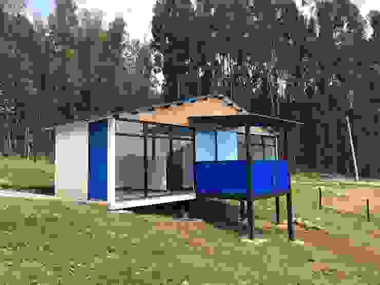 Refugio El Volcan de Camacho Estudio de Arquitectura Rural Madera Acabado en madera