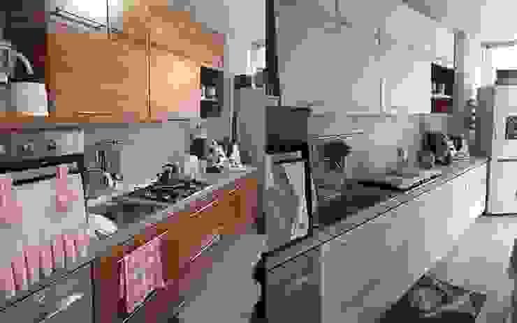 Cambia colore facilmente alla tua cucina in legno di Mobili a Colori
