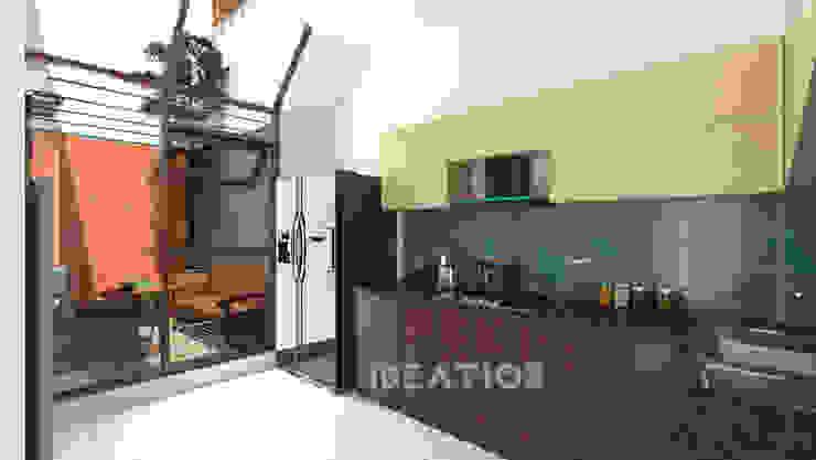 Villa Remodelling - Bangalore by Ideation Design Minimalist Wood Wood effect