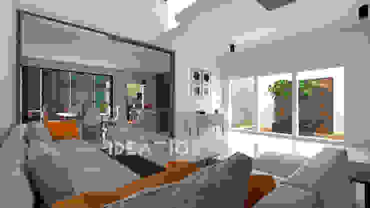 Villa Remodelling - Bangalore Minimalist living room by Ideation Design Minimalist Wood Wood effect