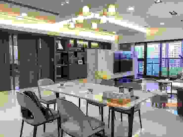 Cheng Tai Design Modern Living Room by 澄太空間設計 Modern
