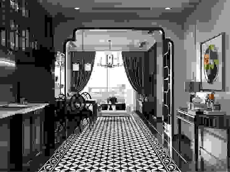 Nghệ thuật thiết kế nội thất – Phong cách cho người nghệ sĩ bởi ICON INTERIOR Châu Á