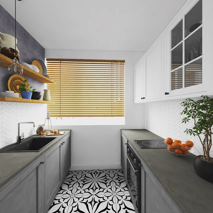 Agence KP Small kitchens