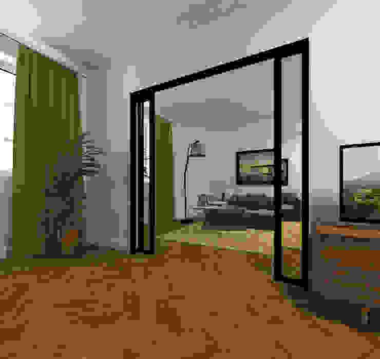 Agence KP Modern living room