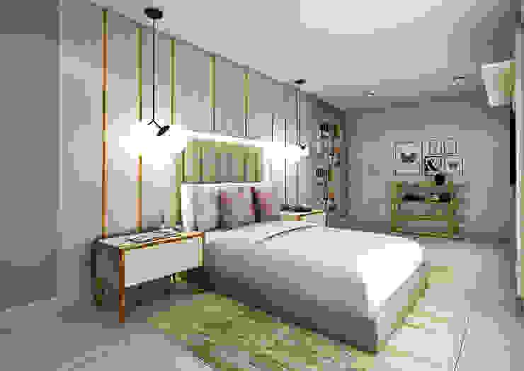 Proyecto San Borja Dormitorios de estilo moderno de Andrea Studio Moderno