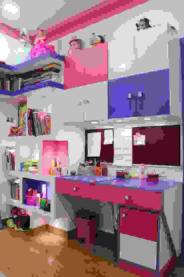 Villa Renovation of Mr Tanmay Banerjee Kolkata Classic style study/office by Cee Bee Design Studio Classic