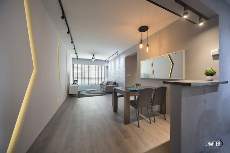 Living View Minimalist living room by Chapter 3 Interior Design Minimalist