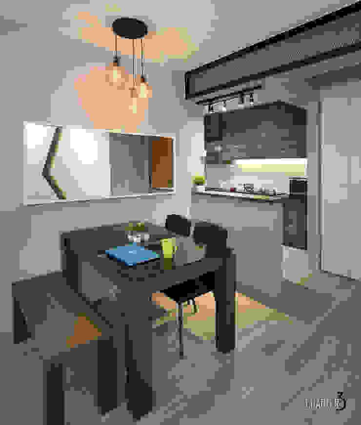 Dining View Chapter 3 Interior Design Minimalist dining room