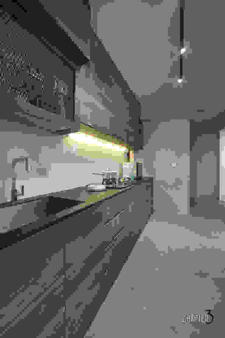 Kitchen View Chapter 3 Interior Design Minimalist kitchen