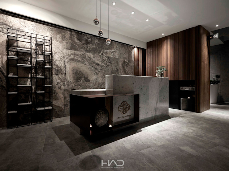 文舺 根據 境觀室內裝修設計有限公司 現代風 大理石