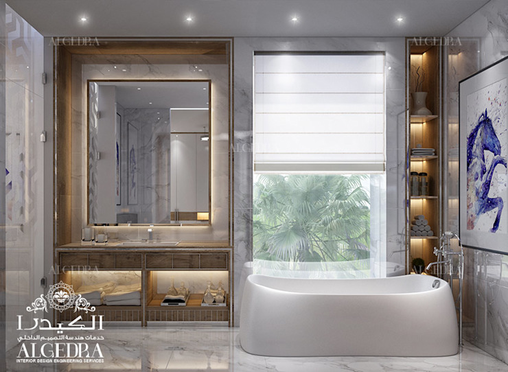 Luxury home bathroom design 現代浴室設計點子、靈感&圖片 根據 Algedra Interior Design 現代風