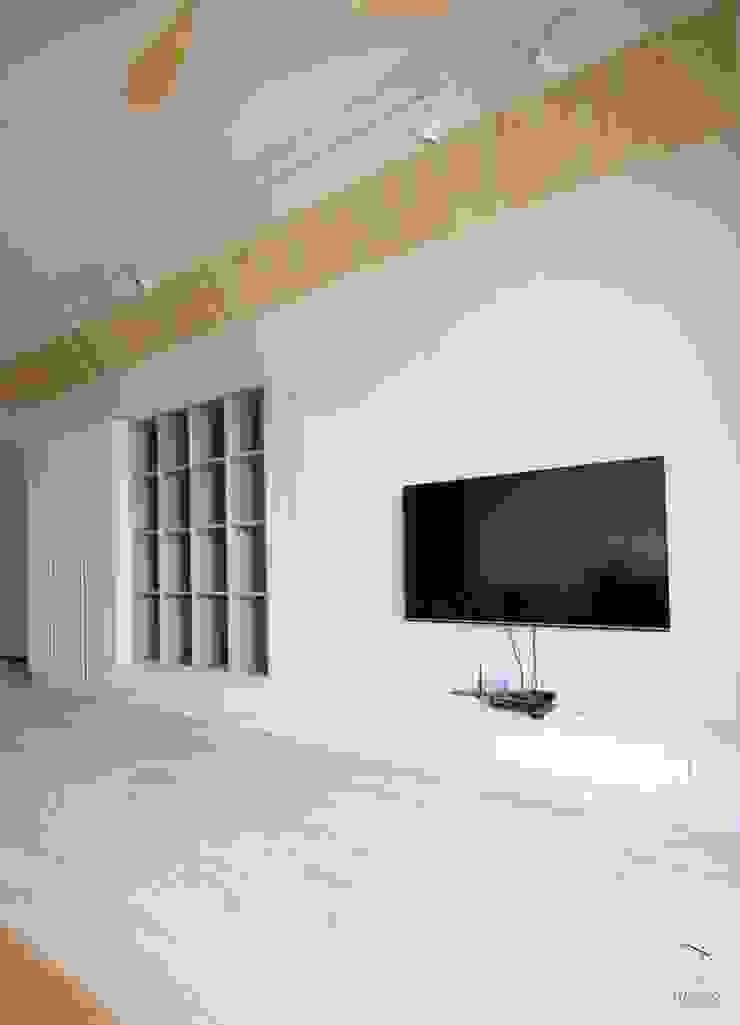 電視牆錦集 根據 黑革設計HaygerInteriorDesign 北歐風 MDF