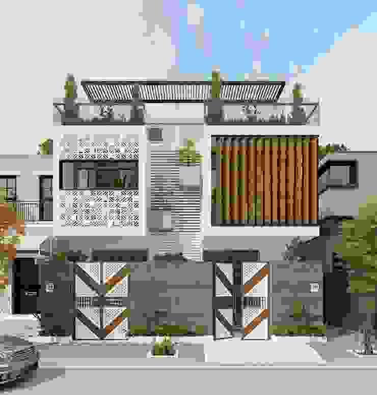 Mẫu nhà phố đẹp làm bao ánh nhìn phải xao xuyến bởi Thiết kế nhà đẹp ở Hồ Chí Minh
