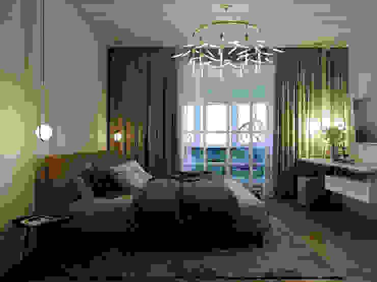 Classic style bedroom by Творческая мастерская Твердый Знак Classic