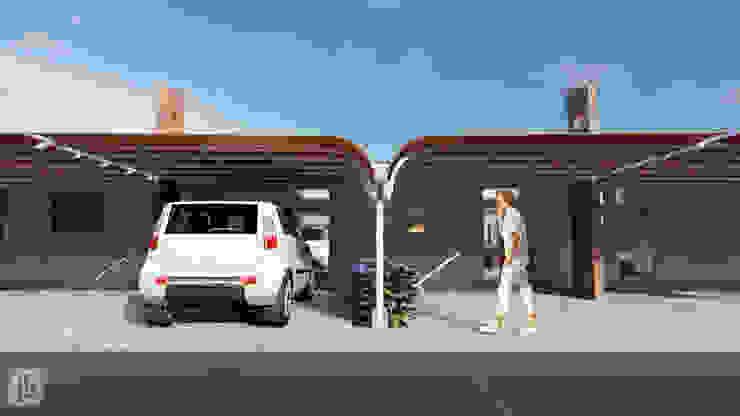 Cobertura Garagem por Joede Barbosa - Arquitetura e Interiores