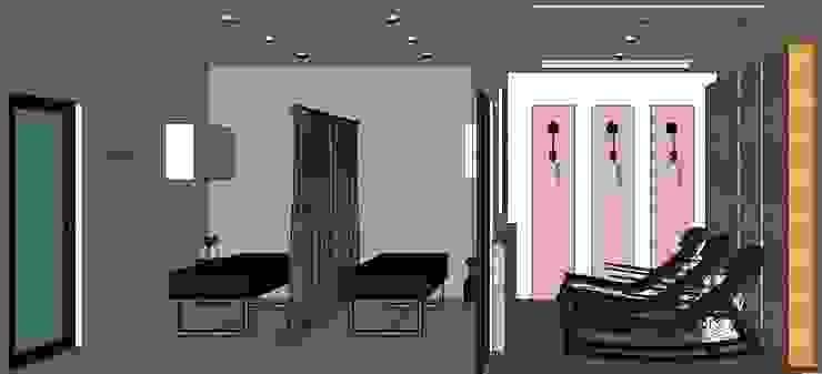 NY THERASPINE Modern gym by MKC DESIGN Modern