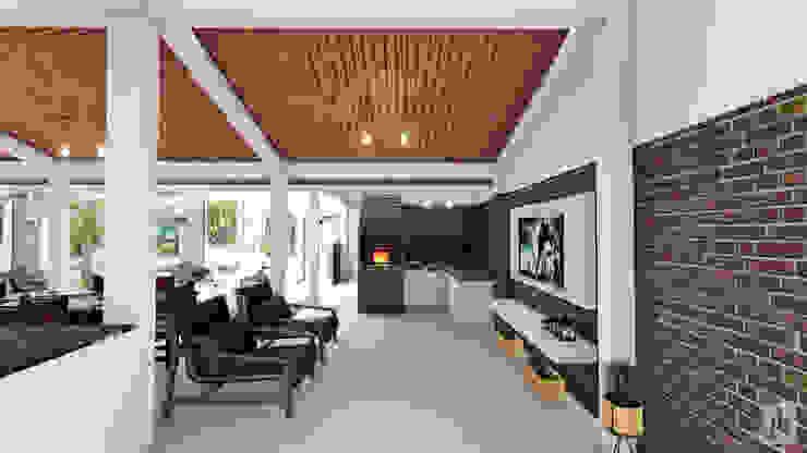Churrasqueira por Joede Barbosa - Arquitetura e Interiores