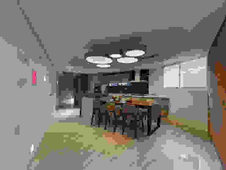 異軸線 根據 拾雅客空間設計 現代風 合板
