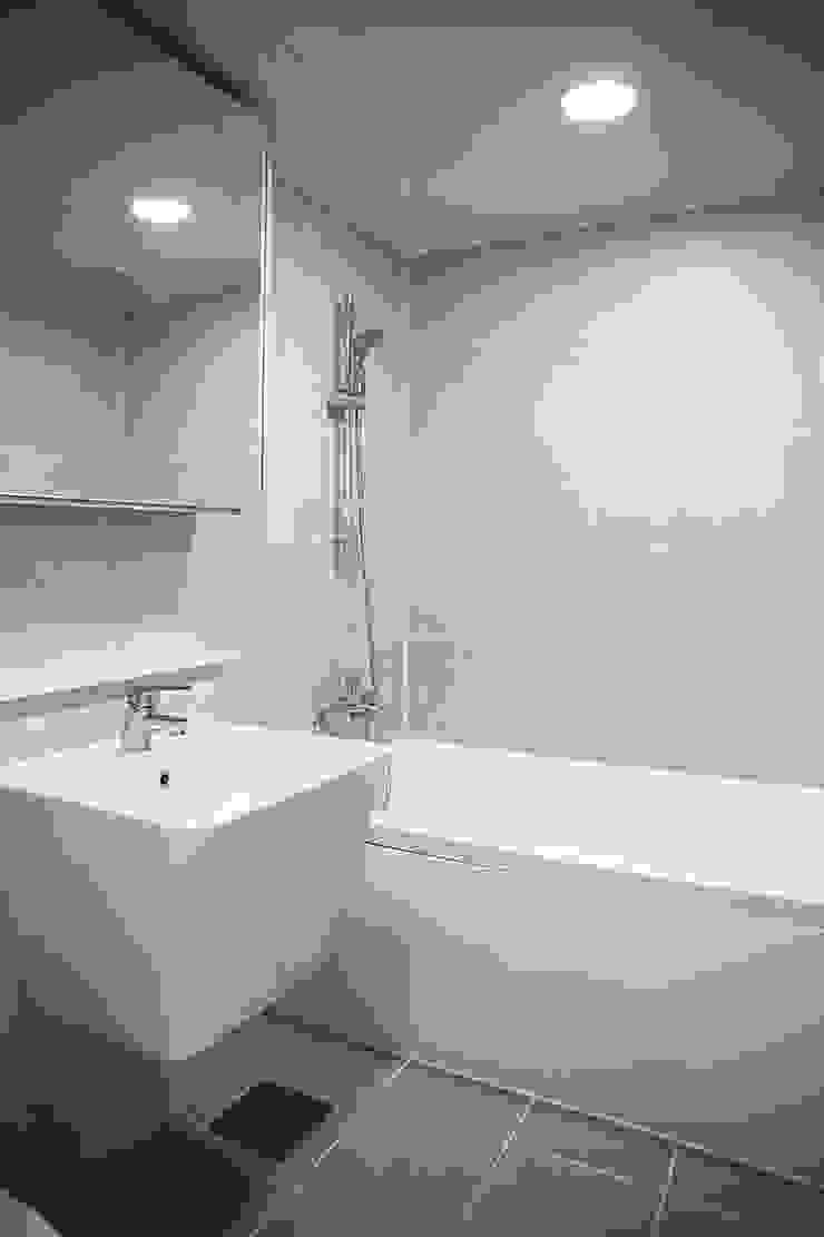 동수원자이1차인테리어 모던스타일 욕실 by 디자인모리 모던