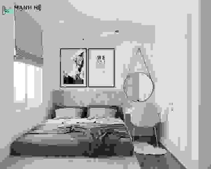 Nội thất phòng ngủ hiện đại bởi Công ty TNHH Nội Thất Mạnh Hệ Hiện đại Đá hoa cương