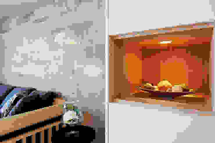 河岸對話 现代客厅設計點子、靈感 & 圖片 根據 拾雅客空間設計 現代風 磁磚
