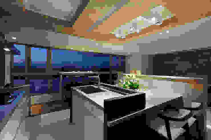 河岸對話 根據 拾雅客空間設計 現代風 合板