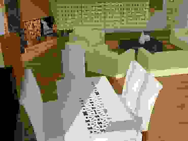 Modern Dining Room by SERPİCİ's Mimarlık ve İç Mimarlık Architecture and INTERIOR DESIGN Modern Wood-Plastic Composite