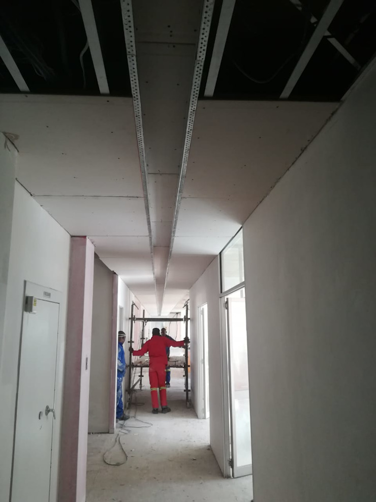 Fixing and Painting the Ceiling by Mike's Building Projects & Maintenance Pty Ltd