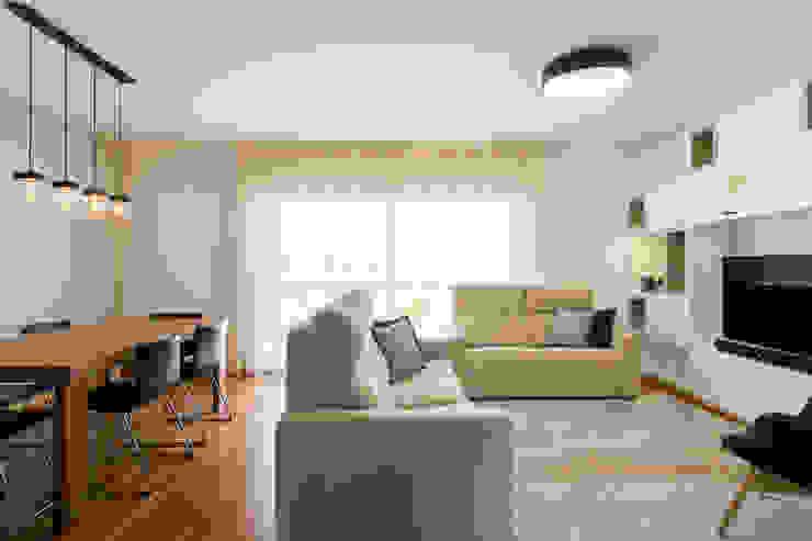 Traço Magenta - Design de Interiores Phòng khách