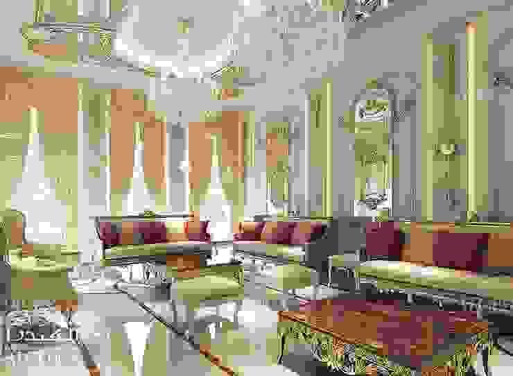 Elegant majlis interior design by Algedra Interior Design Classic