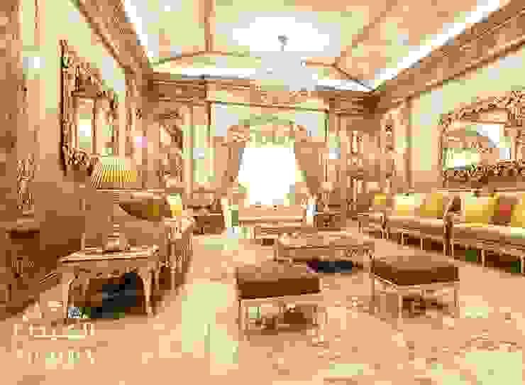 تصميم مجلس لقصر فاخر من Algedra Interior Design كلاسيكي