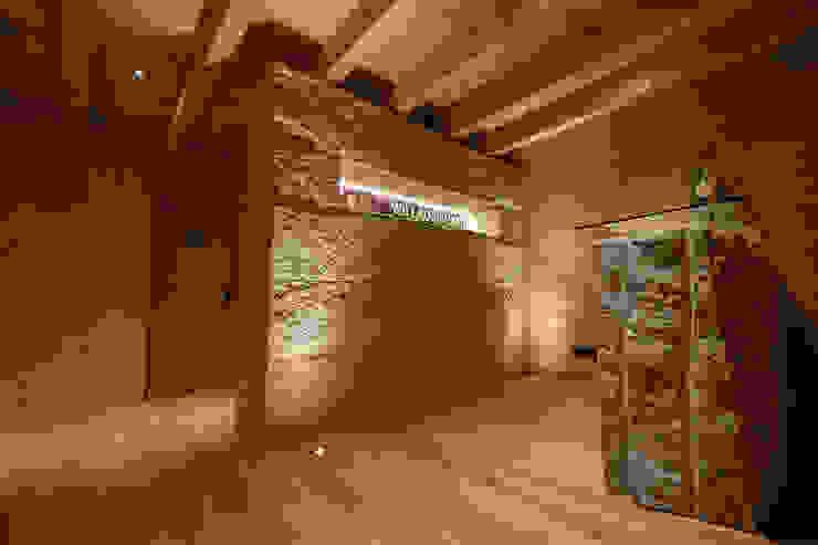 Natürliche Materialien von Skapetze Lichtmacher Landhaus Stein