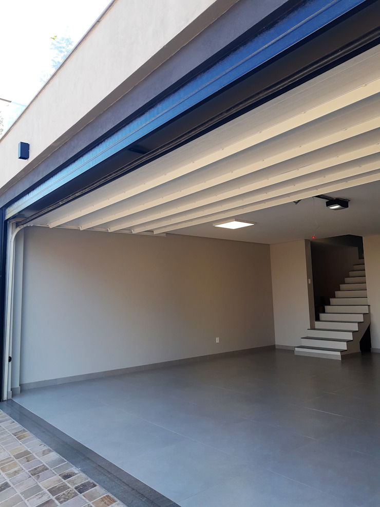 Cattani Portões Puertas de garajes Hierro/Acero Negro