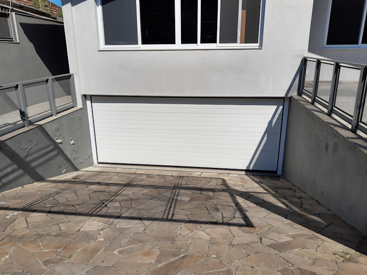 Cattani Portões Garage Doors Iron/Steel White