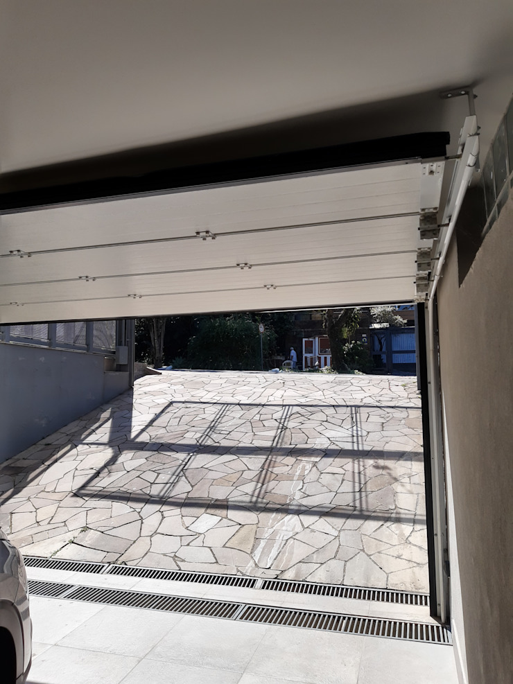 Cattani Portões Puertas de garaje Hierro/Acero Blanco