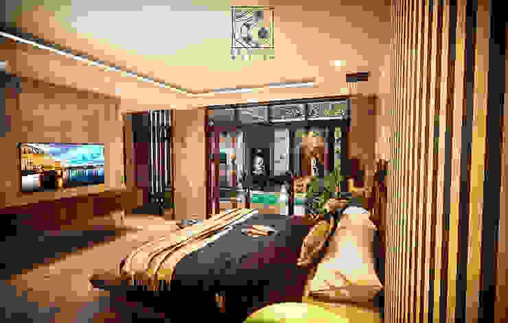 Vam Master Bedroom Kamar Tidur Tropis Oleh Permanas Design Tropis